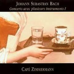 Bach - Concerts Avec Plusieurs Instruments, Vol 1 - Café Zimmermann