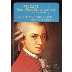 Mozart - Great Piano Concertos Nos. 1, 4, 23, 24