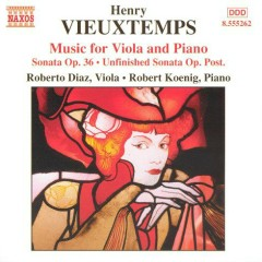 Henry Vieuxtemps - Music For Viola And Piano - Robert Koenig, Roberto Díaz