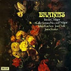 Brahms - Piano Trio Op. 87 & Cello Sonata No. 2 - Julius Katchen, Josef Suk, Janos Starker