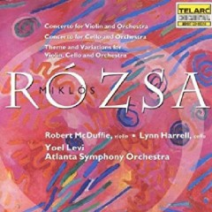 Rozsa, Miklos - Violin & Cello Concertos