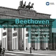 Beethoven - Piano Trios Nos. 4 & 5; Cello Sonatas Nos. 3 & 5 Disc 2 - Daniel Barenboim, Pinchas Zukerman, Jacqueline du Pré