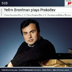 Yefim Bronfman Plays Prokofiev CD 4
