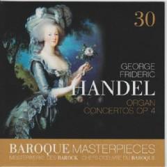 Baroque Masterpieces CD 30 - Handel Organ Concertos Op. 4 (No. 2) - Rudolf Ewerhart, Collegium Aureum