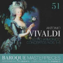 Baroque Masterpieces CD 51 -  Vivaldi  L'estro Armonico CD 1 (No. 2)