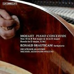 Mozart - Piano Concertos Nos. 15 & 16