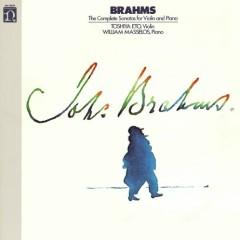 Brahms - The Complete Sonatas For Violin And Piano - Toshiya Eto, William Masselos