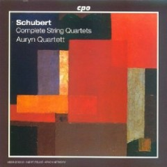 Schubert - Complete String Quartets CD 4 - Auryn Quartet