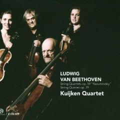 Beethoven - String Quartets, Op. 59 Razumovsky; String Quintet, Op. 29 CD 1 - Kuijken Quartet