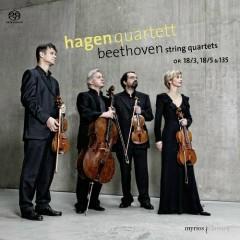 Beethoven - String Quartets Opp. 18/3, 18/5 & 135 - Hagen Quartett