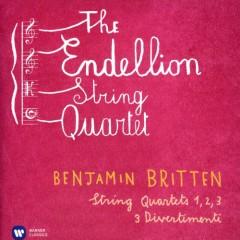 Britten - String Quartets Nos 1, 2, 3; 3 Divertimenti CD 1