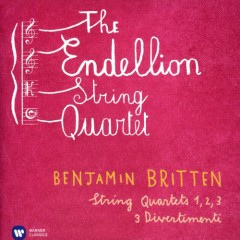 Britten - String Quartets Nos 1, 2, 3; 3 Divertimenti CD 2