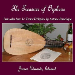 Le Tresor D'Orphee By Antoine Francisque (No. 1)