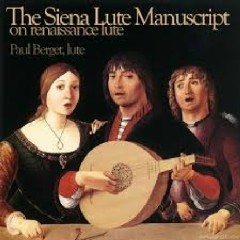 The Siena Manuscript On Renaissance Lute