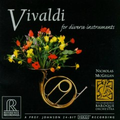Vivaldi For Diverse Instruments - Nicholas McGegan