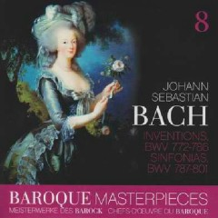 Baroque Masterpieces CD 8 - Bach Inventions And Sinfonias (No. 1) - Leonhardt Gustav