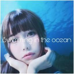 Swimming in the ocean