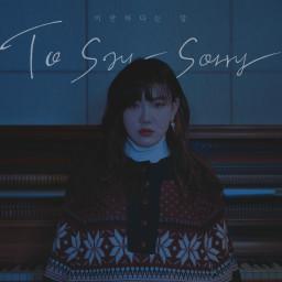 To Say Sorry (Original Ver.)