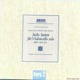 Suite No.4 In E-Flat Major, BWV 1010 - 3. Courante