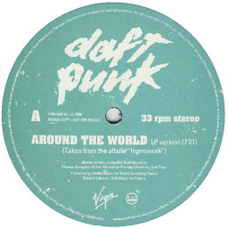 Around The World (Limited Edition) (Vinyl 12) (Singles)