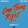 One Thing Right (Ruhde Remix)